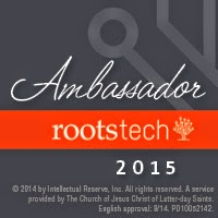 RootsTech - February 12-14, 2015