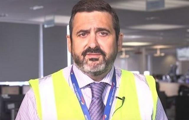 El CEO de British Airways tiene un chaleco amarillo