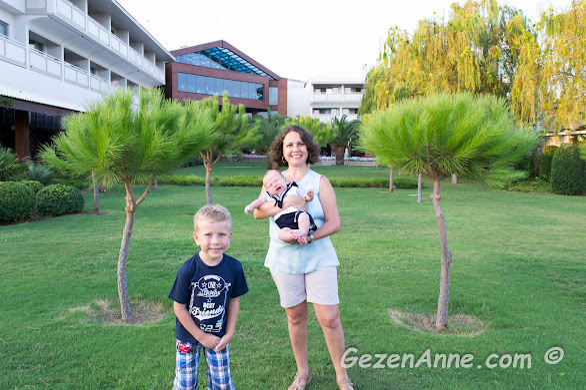 bebekli ve çocuklu olarak gittiğimiz Hilton Dalaman Sarıgerme otel