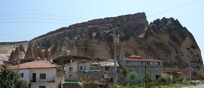 Monasterio de Selime accediendo desde el Norte.
