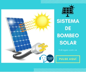 Tecnología solar como energía para sistemas de bombeo