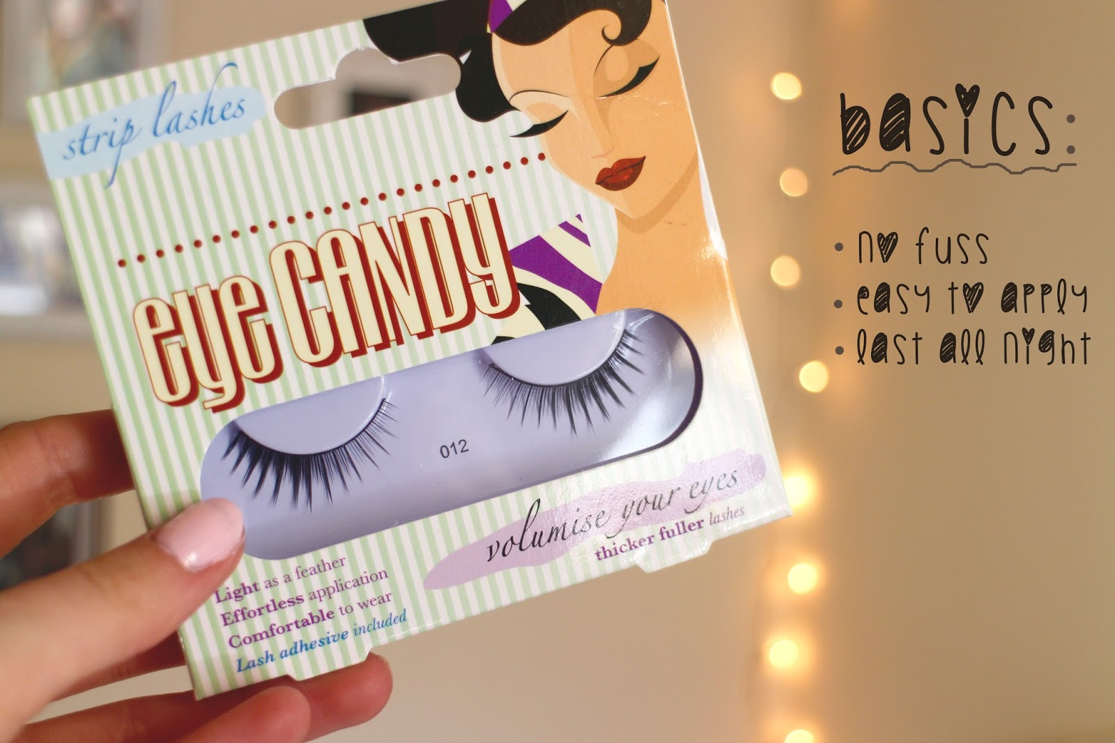 eye candy false lashes no 12 review
