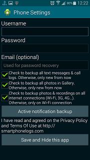 Aplikasi SMARTPHONE LOGS APK