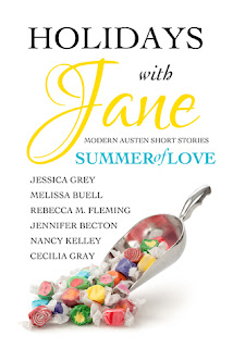 Book cover: Holidays with Jane: Summer of Love