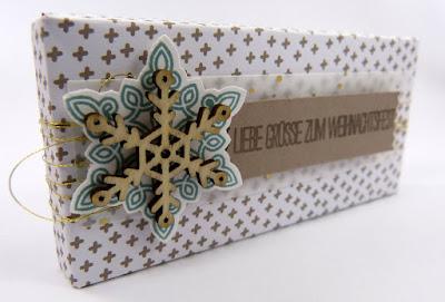 Anleitung Schokoladenbox mit Envelope Punch Board