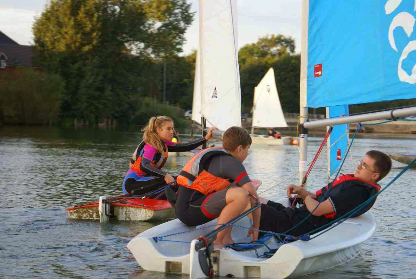 A Sailors Lot : Rugby and Daventry Sailing Club awarded £ ...