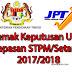 Semak Keputusan UPU Bagi Lepasan STPM/Setaraf 2017/2018