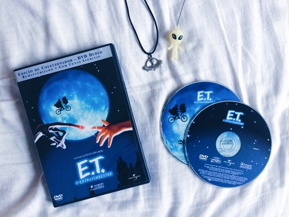 dvd et o extraterrestre duplo alien colar