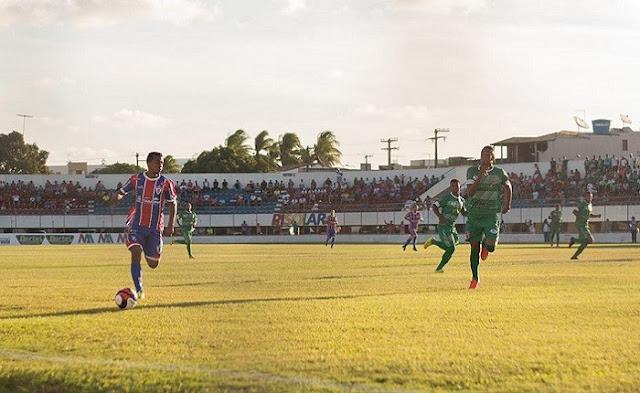Itabaiana vence o Lagarto por 1 a 0,