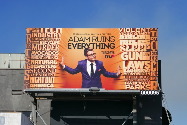 Adam Ruins Everything season 3 billboard
