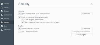 Melihat Password yang Tersimpan pada Mozilla Firefox