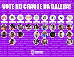 VOTE NO CRAQUE DA GALERA!