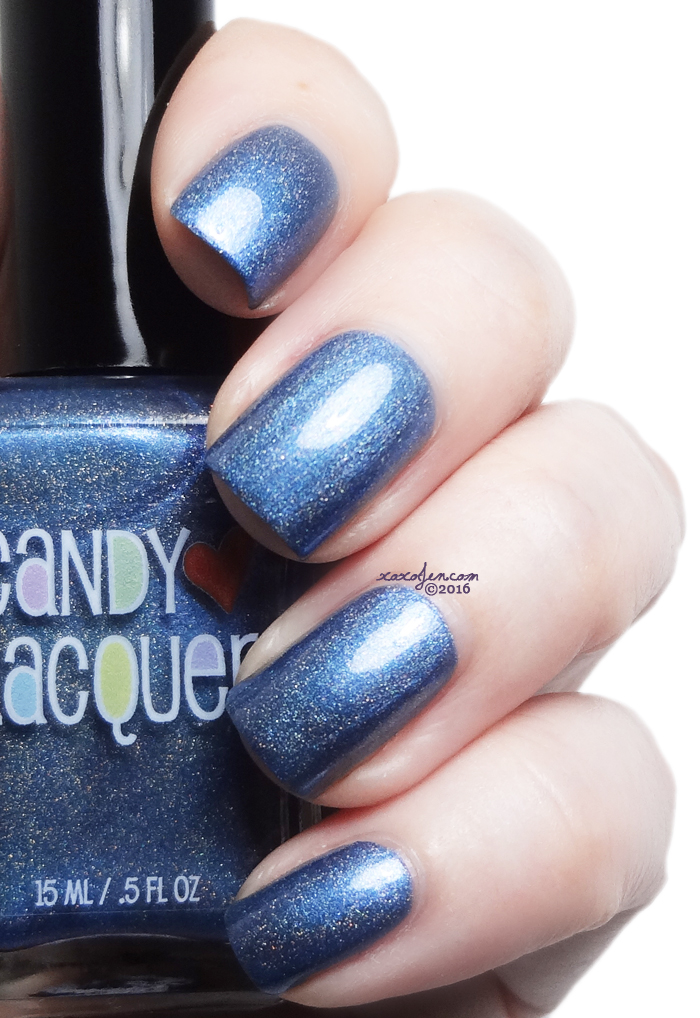 xoxoJen's swatch of Candy Lacquer Deep End