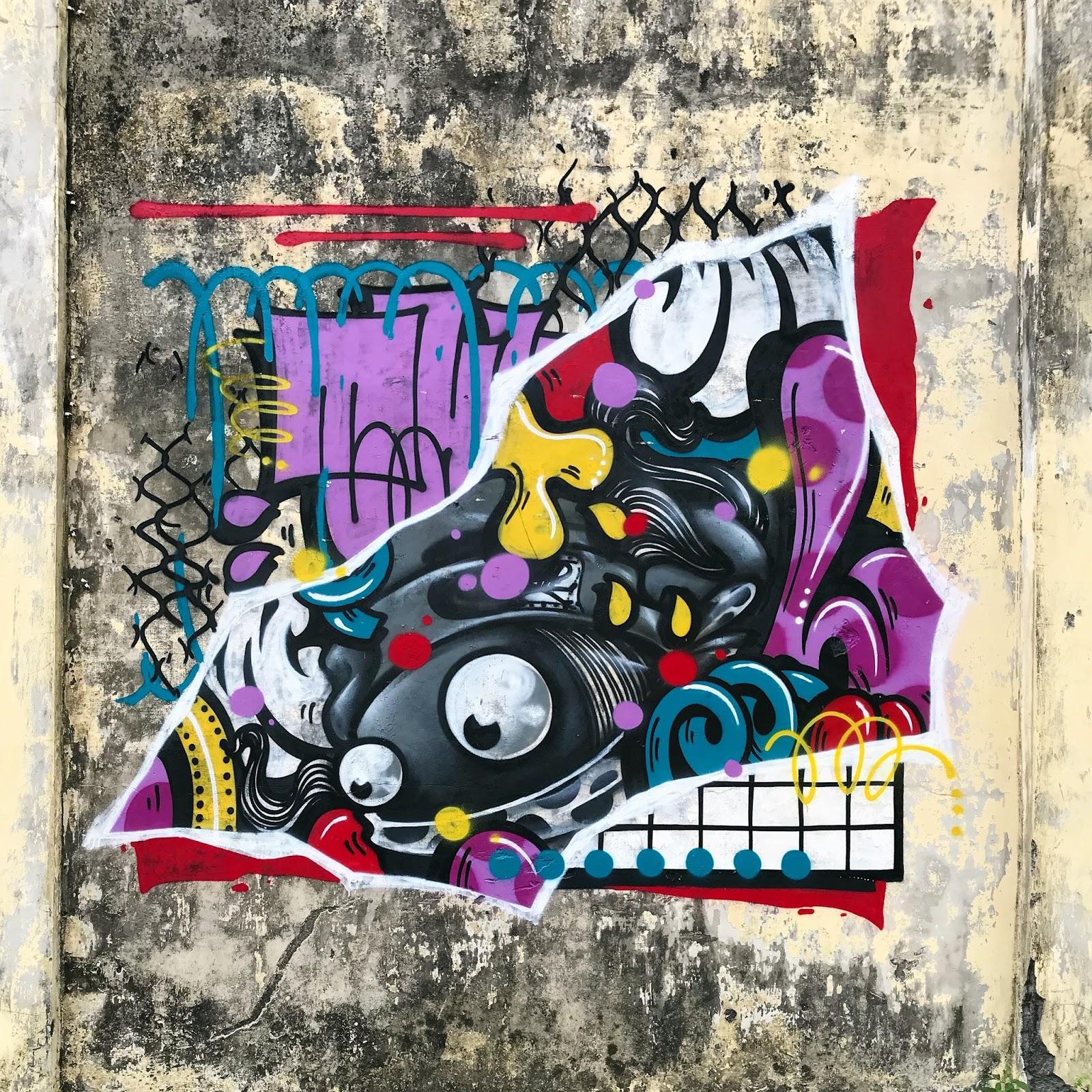 Street art graffiti tuyuloveme