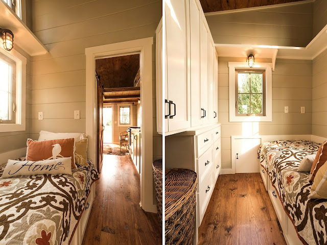 Boxcar tiny house by Timbercraft Tiny Homes