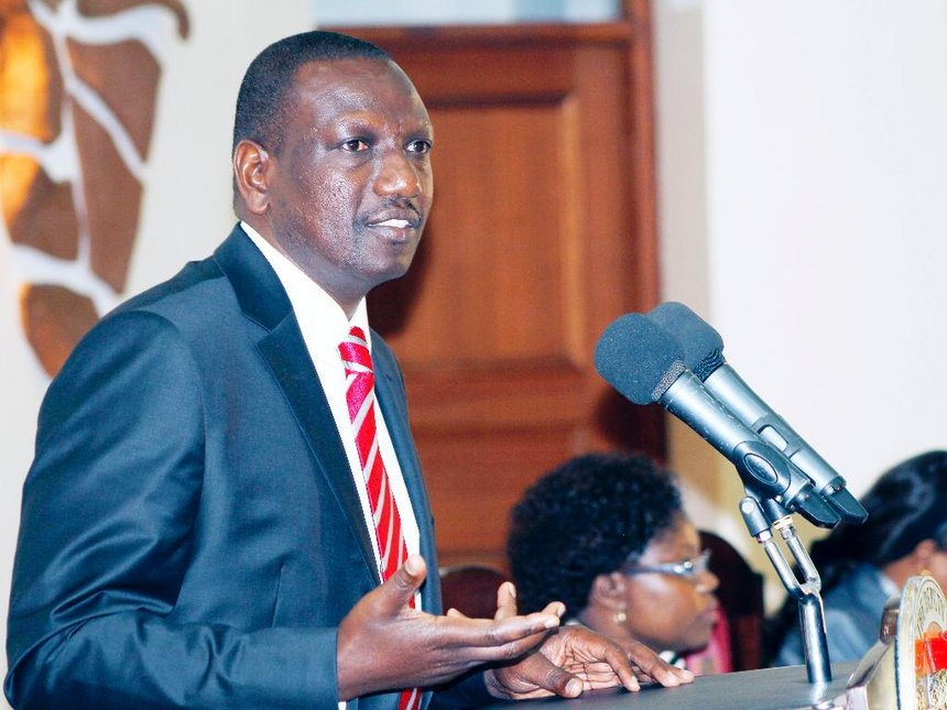Ruto Thrown Under The Bus As Jubilee Declares He Will Not Be Automatic Candidate Raphael Tuju