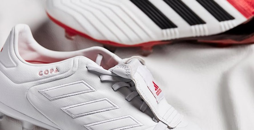571904622962 Classy White / Red Adidas Copa Gloro 2018 Cold Blooded Boots Released