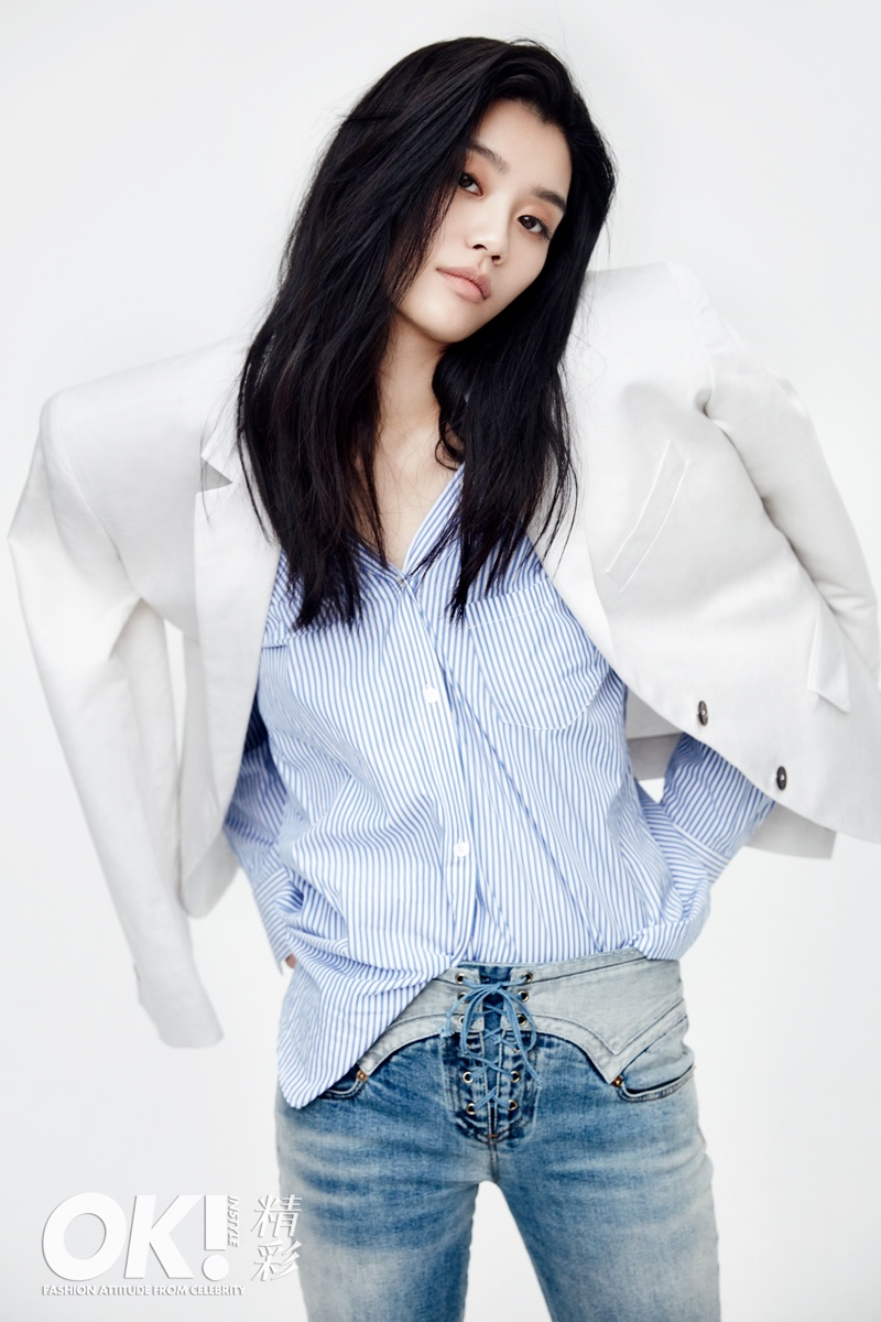 Ming Xi Stars in OK! China January 2017