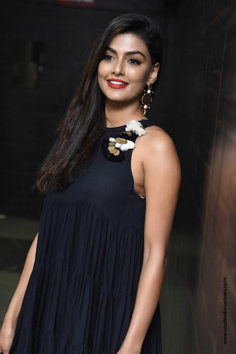Anisha Ambrose at Vunnadhi Okate Zindagi Audio Release