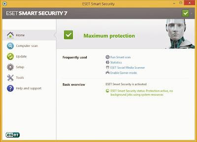 Cara Crack Eset Smart Security7 dan Eset Nod32 Antivirus7 Agar Full Version