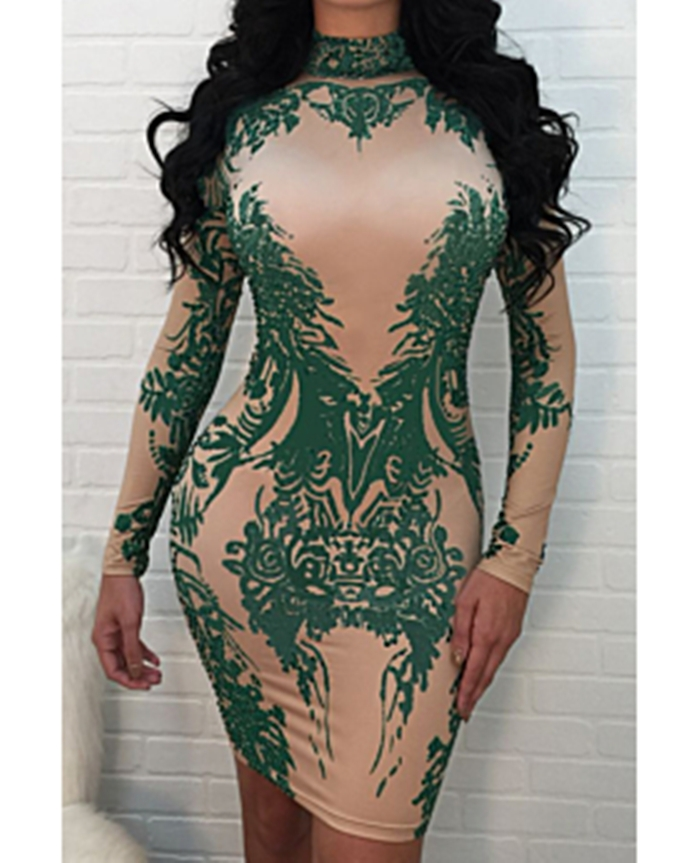 https://www.girlmerry.com/nude-green-print-long-sleeves-zipper-back-sexy-little-dress.html