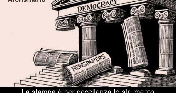 Aforismario Aforismi Frasi E Citazioni Sulla Libertà Di Stampa