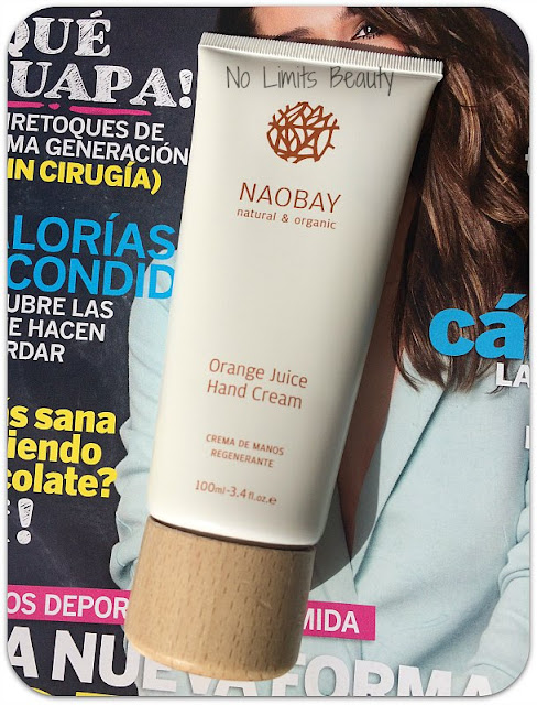 Regalos revistas Marzo 2016 - Clara - Crema de manos Orange Juice NaoBay
