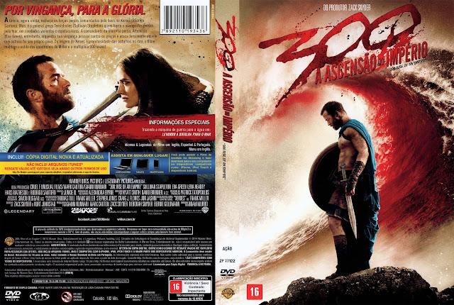 Capa DVD 300 A ASCENSÃO DO IMPÉRIO