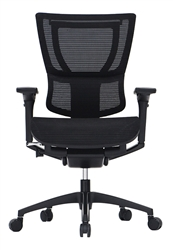 All Black iOO Chair - Front View