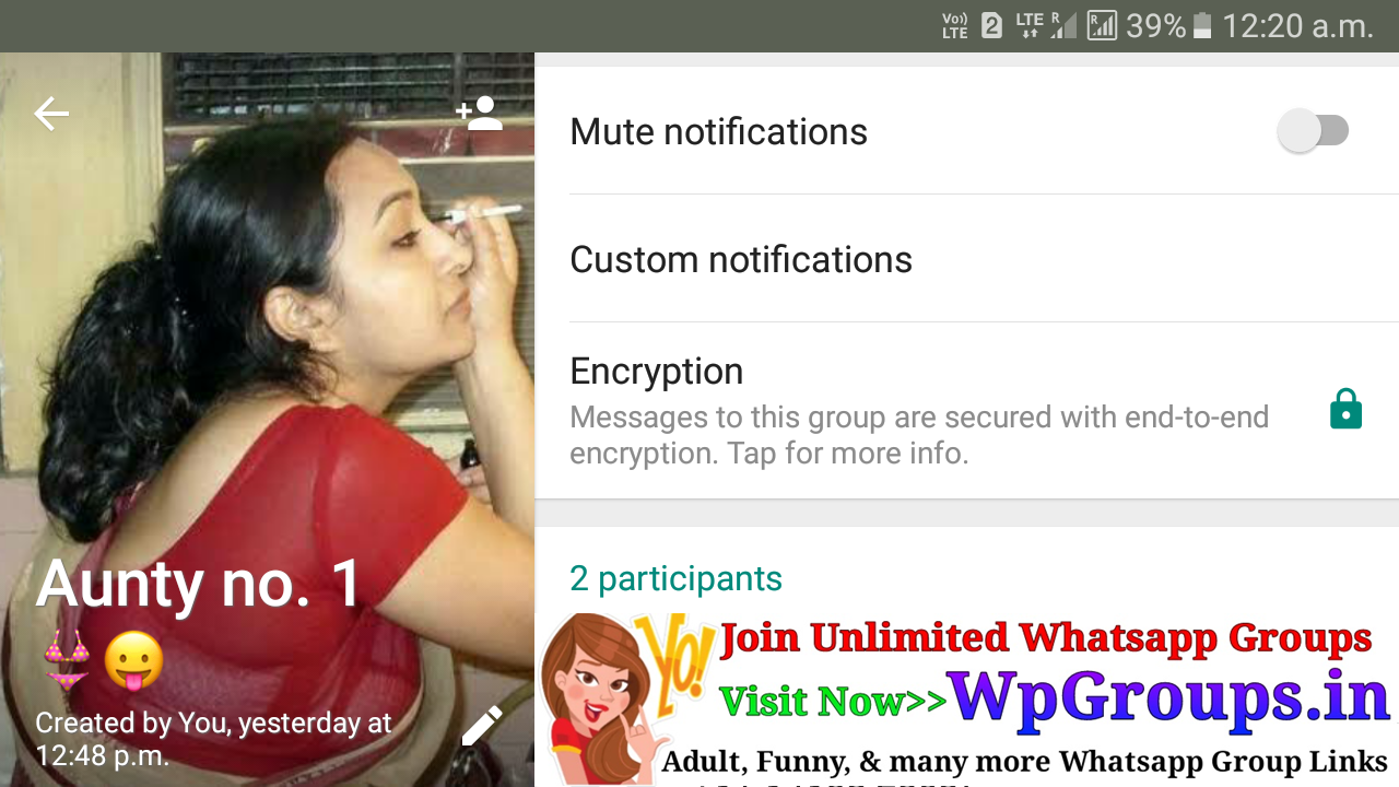 aunty no 1 user submitted adult whatsapp group link