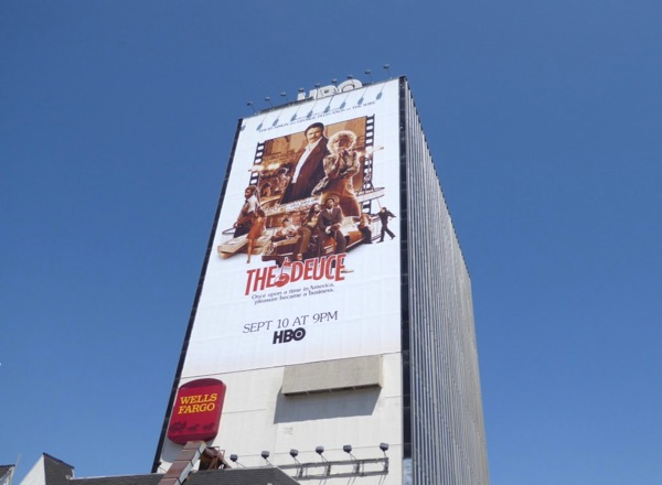 Deuce HBO series billboard