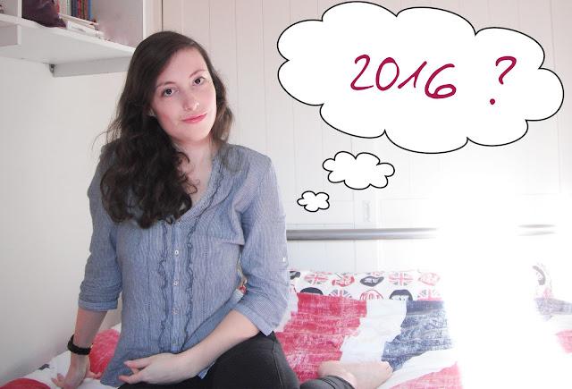 Mes résolutions / objectifs pour 2016