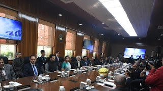 FinMin Addressed the Central Board of Directors of RBI