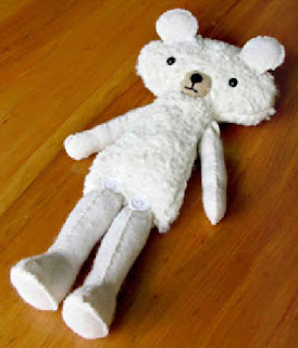 Шьем мишку. How to sew a toy-bear