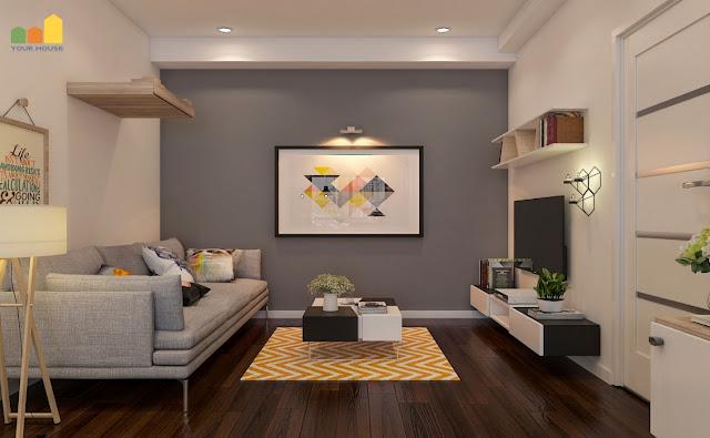 Thiết kế nội thất chung cư đẹp với phong cách đơn giản