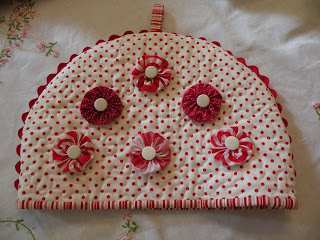 Tea Cozy Pattern Quilted Free Quilt Pattern