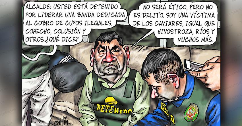Carlincaturas Sábado 4 Agosto 2018 - La República