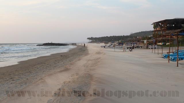 Morjim Beach, Goa, Intia