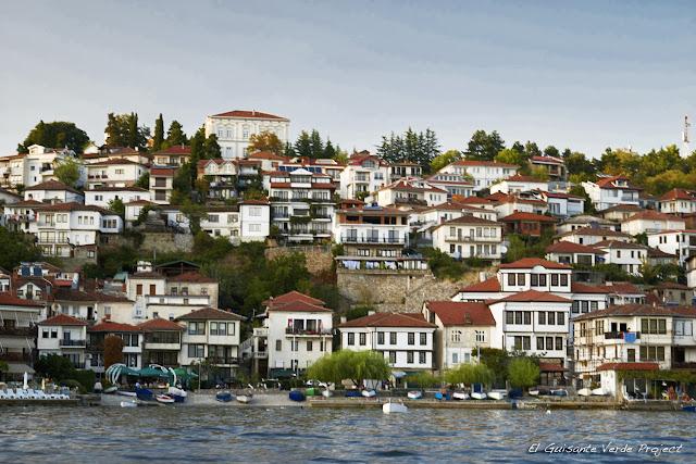 Casas de Ohrid - Macedonia por El Guisante Verde Project
