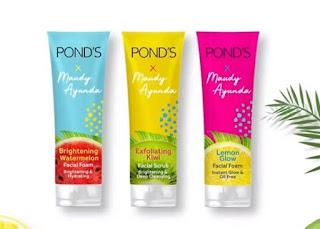 pond's x maudya ayunda facial foam