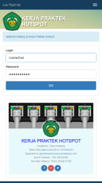 Responsive Login Page Mikrotik SMK Android