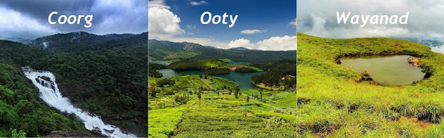 coorg, ooty ,waynad, tour package, aksharonline.com, akshar infocom, akshar tours, 8000999660, 9427703236, www.aksharonline.com, South hill station tour