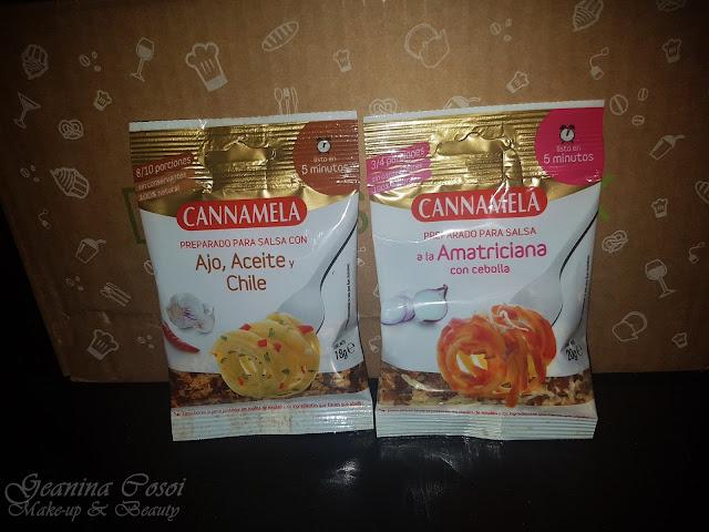 Preparado Cannamela italiano Degustabox Junio´17 ¡VERANO!