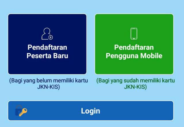 Pendaftaran pengguna mobile