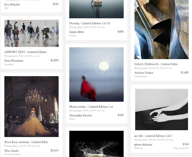 "Featured in the ""Hot Shots: New Photography"" collection on Saatchi Art's homepage"