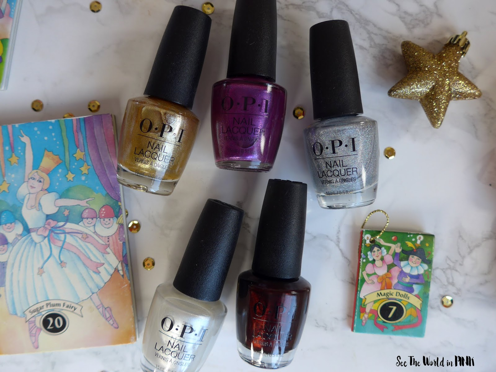 OPI The Nutcracker and the Four Realms Collection