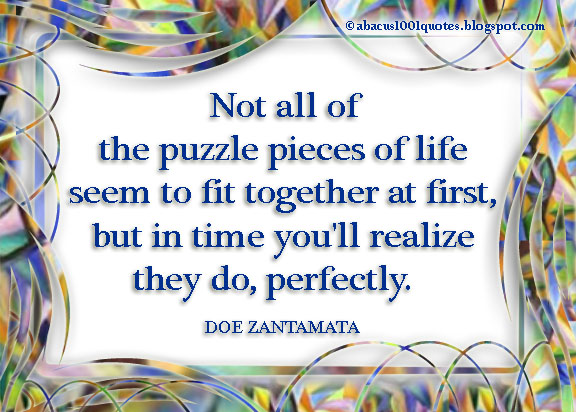 Doe Zantamatas Quote About Life Abacus1001quotes