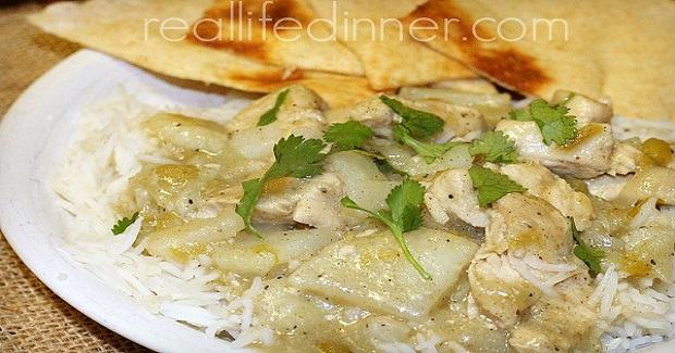 Green Curry With Chicken And Potatoes Recipe