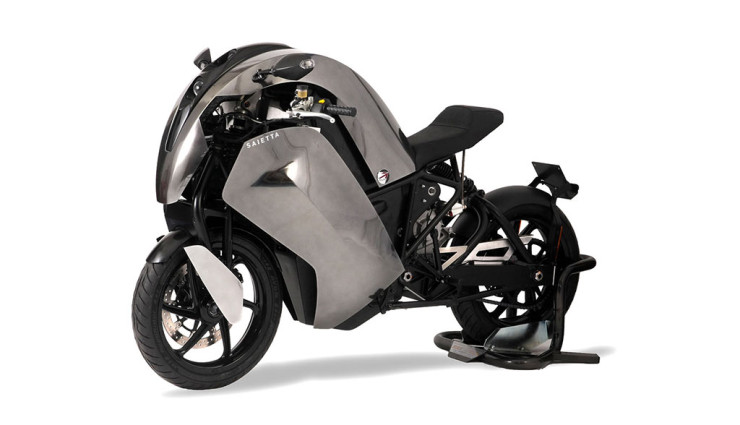 Saietta trying to be the Tesla of Electric motor superbikes