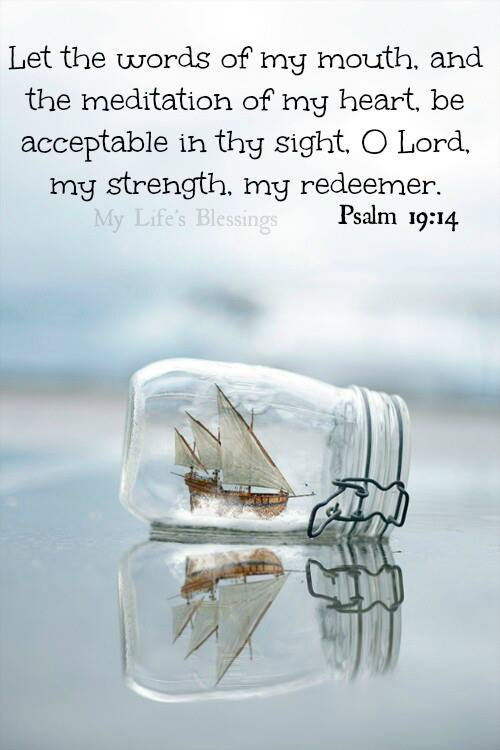 O Lord, my strenght, my redeemer